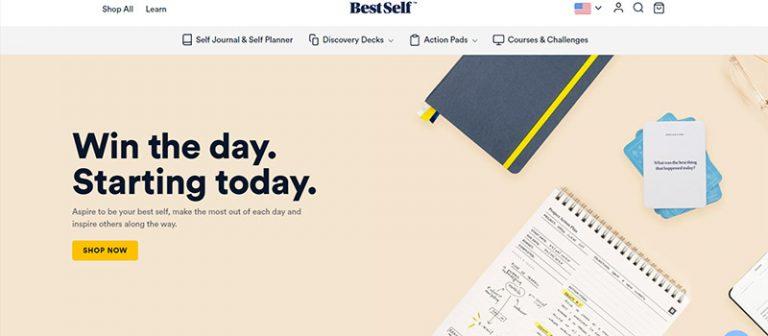 Best Journal homepage design