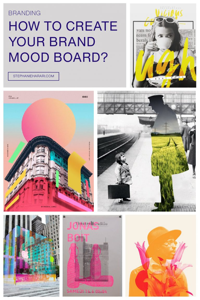 How to create your brand mood board