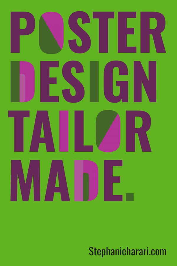 Tailor made poster design