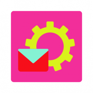 Online Business integration icon